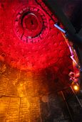 Inside the furnace