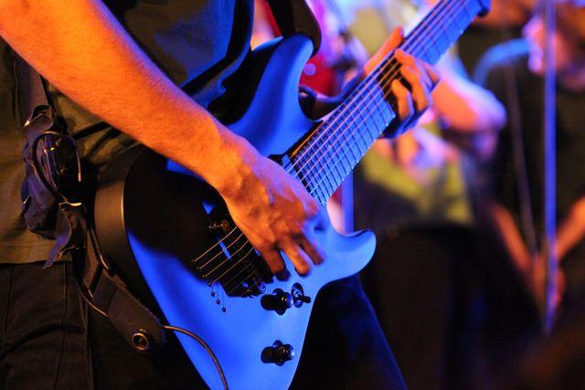 Domenik and His Guitar