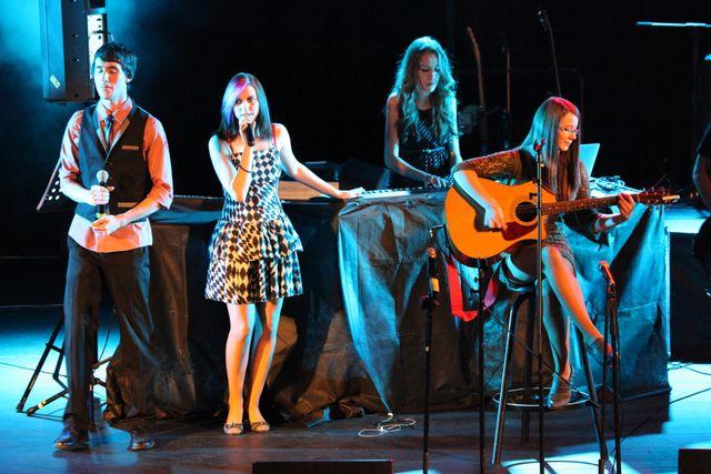 Riša, Denča, Miriam, and Jana