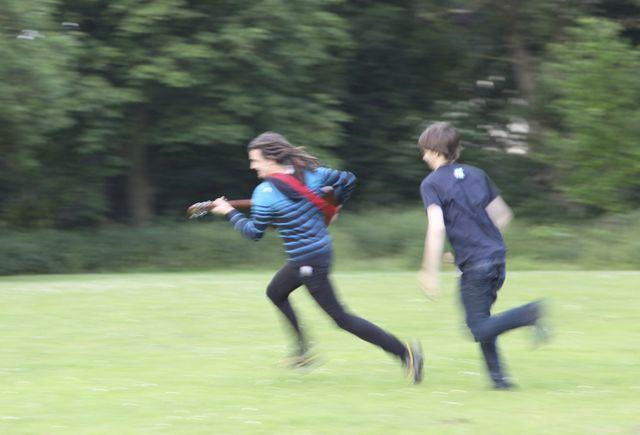 A run in the park