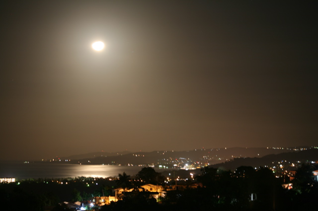 Moonrise Over Ocho Rios