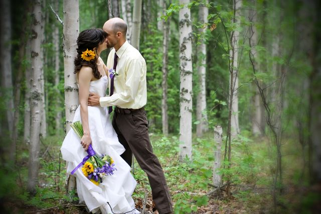 Kissing Among the Birches